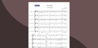 preludio da la traviata   spartito gratis per ensemble di clarinetti