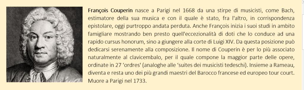 Francois Couperin - biografia breve