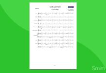 handel - sarabanda (la follia) | partitura gratis per orchestra di scuola media ad indirizzo musicale