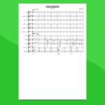 sibelius - valse triste   partitura gratis per orchestra scolastica