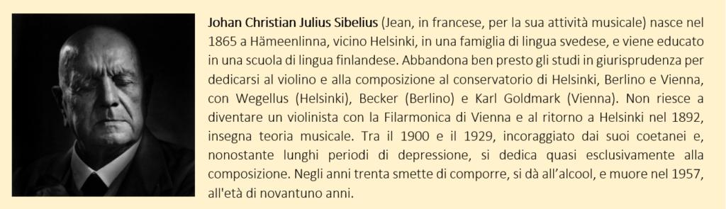 Jean Sibelius, biografia breve