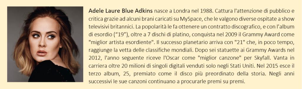 Adele, biografia breve