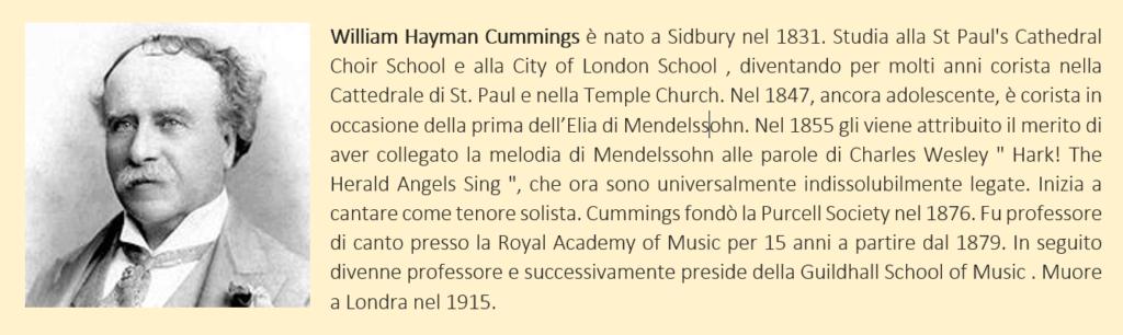 William Hayman Cummings, biografia breve