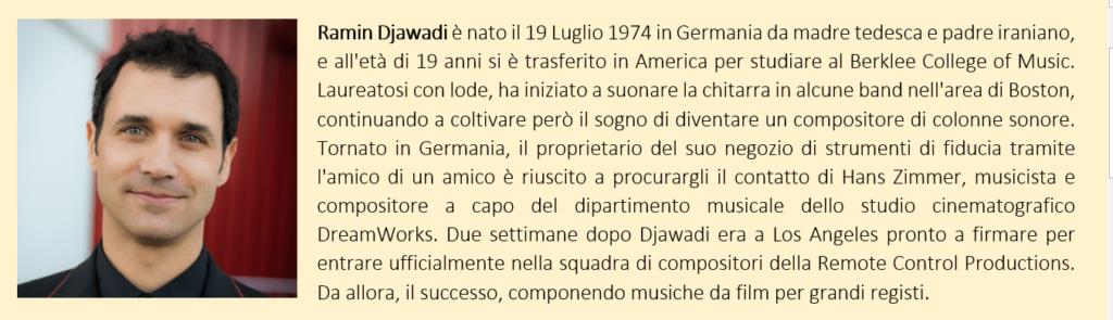 Ramin Djawadi, biografia breve