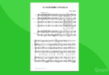 el desembre congelat | partitura per orchestra di scuola media ad indirizzo musicale