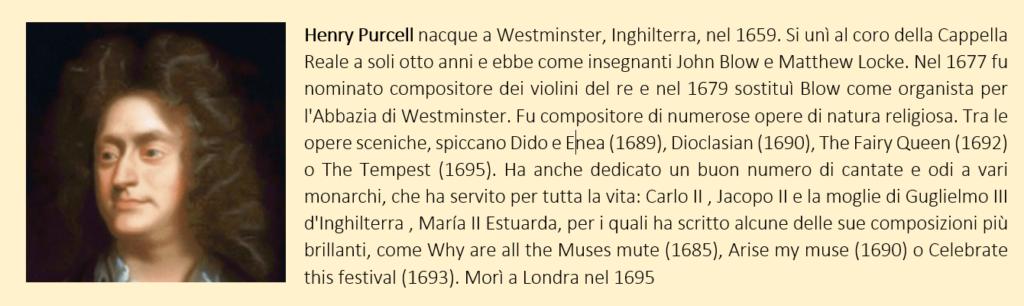 Henry Purcell, biografia breve