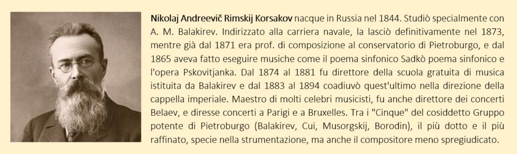 rimsky-korsakov, biografia breve