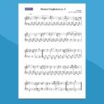 danza ungherese n.5   spartito per pianoforte facile
