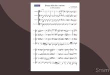 tchaikovsky - danza della fata confetto | spartito gratis per ensemble di clarinetti