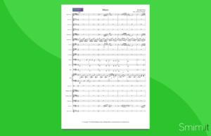 music di john miles | partitura per orchestra di scuola media ad indirizzo musicale