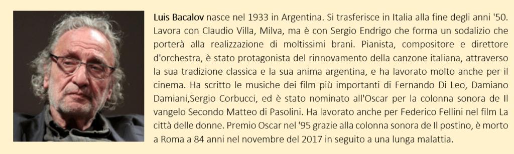 Luis Bacalov, biografia breve
