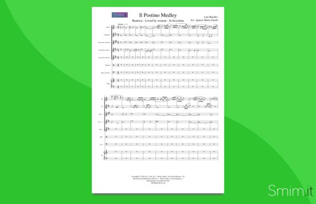 il postino | partitura per orchestra scolastica