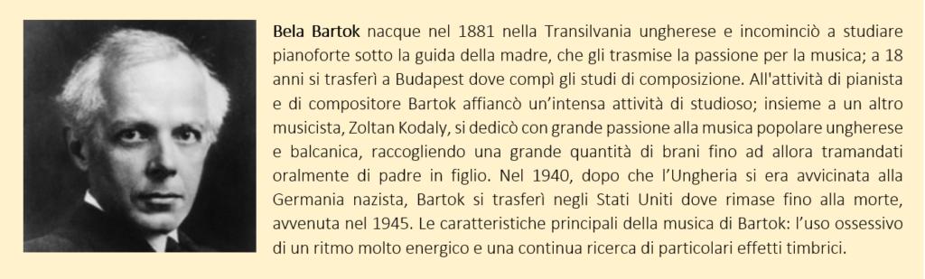 Bela Bartok, biografia breve