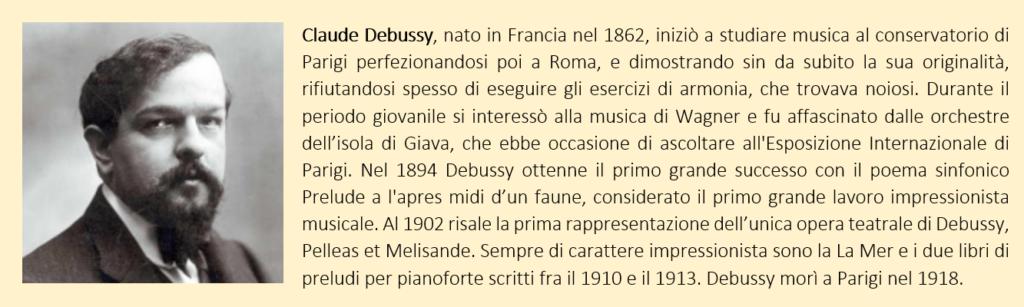 Claude Debussy, biografia breve