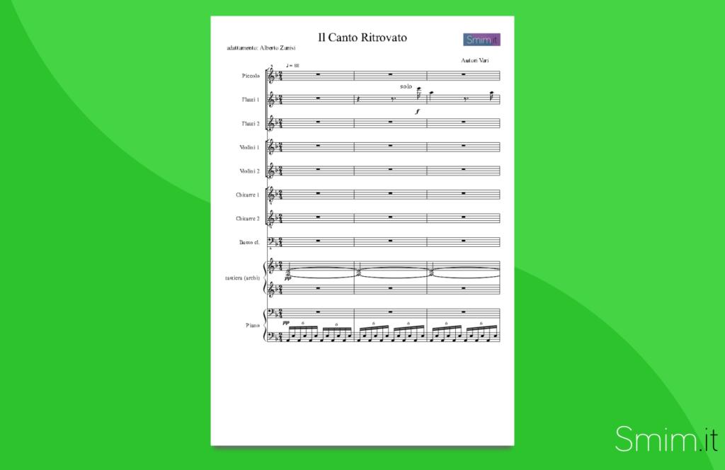fratelli d'italia | partitura gratis per orchestra scolastica