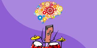 studiare batteria rende il cervello più efficiente