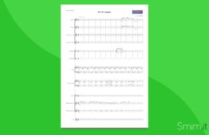 era de maggio | partitura gratis per orchestra di scuola media ad indirizzo musicale