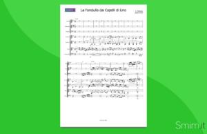 debussy: la fanciulla dai capelli di lino | partitura gratis per orchestra scolastica