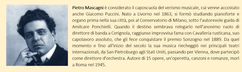 Pietro Mascagni: biografia breve