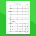 Intermezzo dalla Cavalleria Rusticana di Mascagni | partitura gratis per orchestra scolastica