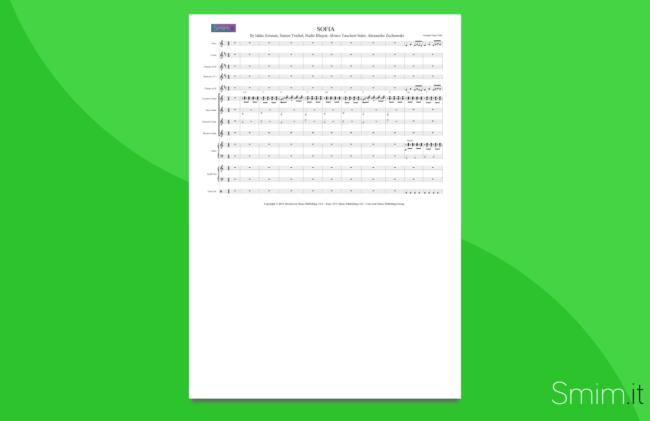 Sofia, di Alvaro Soler | partitura per orchestra scolastica