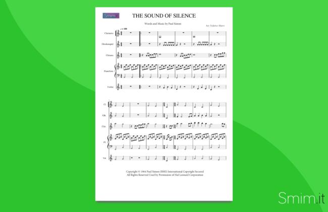 The Sound of Silence | partitura per orchestra scolastica