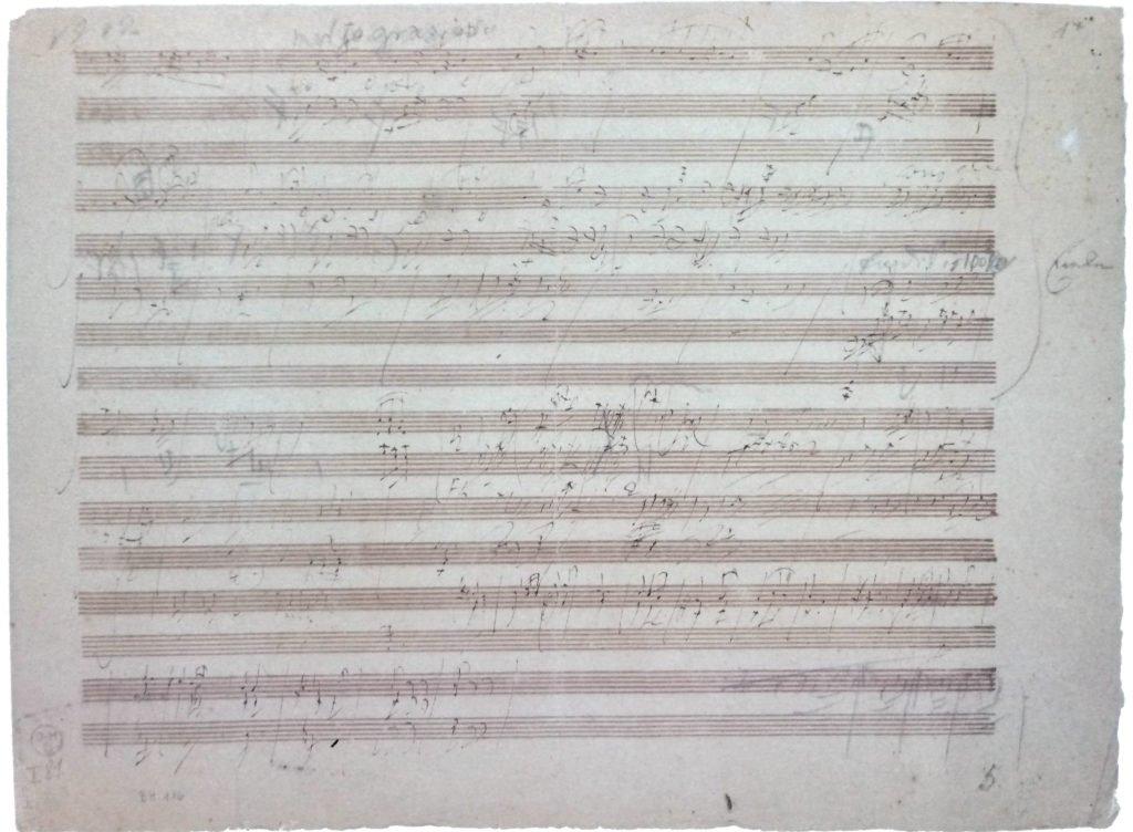 Abbozzi di Beethoven, con stralci di Per Elisa