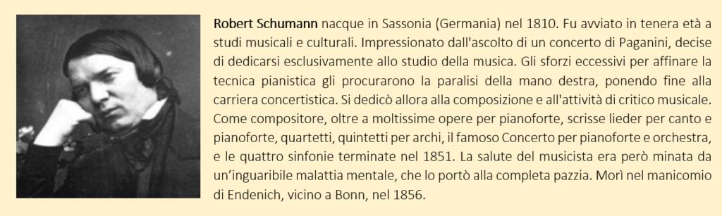 Robert Schumann, biografia breve