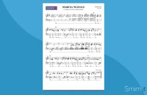 marcia nuziale di mendelssohn | spartito gratis per pianoforte