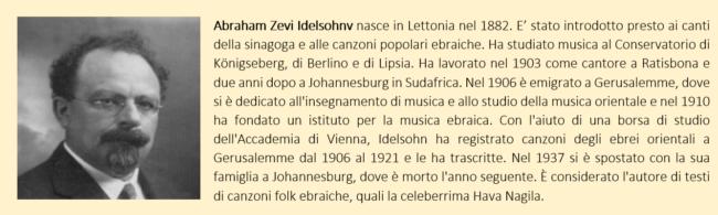 idelsohnv - biografia