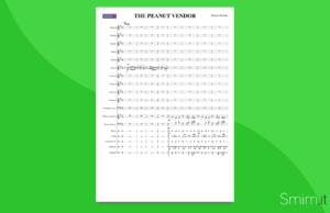 the peanut vendor   partitura gratis per orchestra scolastica