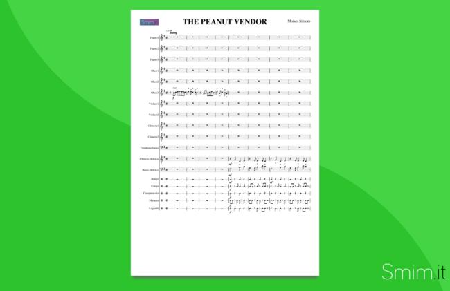 the peanut vendor | partitura gratis per orchestra scolastica
