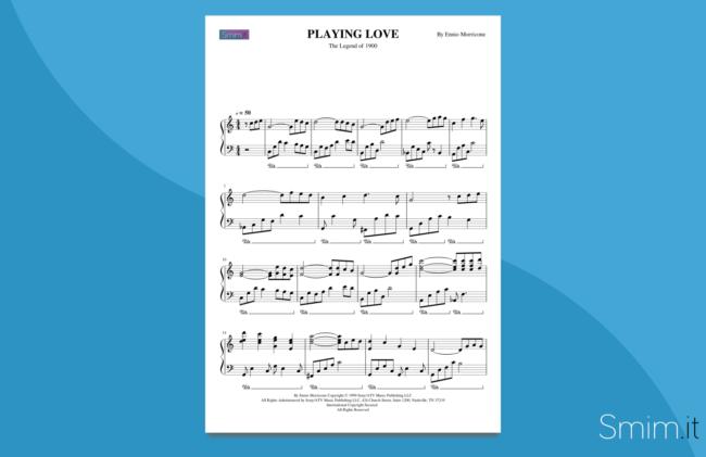 la leggenda del pianista sull'oceano | spartito per pianoforte