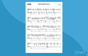 oh happy day | spartito gratis per pianoforte