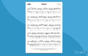 exile, di taylor swift | spartito per pianoforte