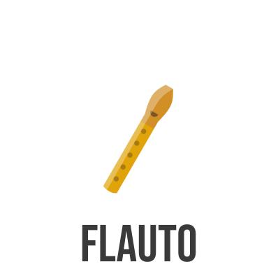 spartito e base musicale per flauto