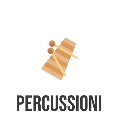 spartito e base musicale per percussioni