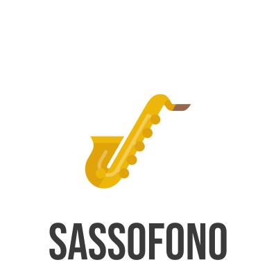 spartito e base musicale per sassofono