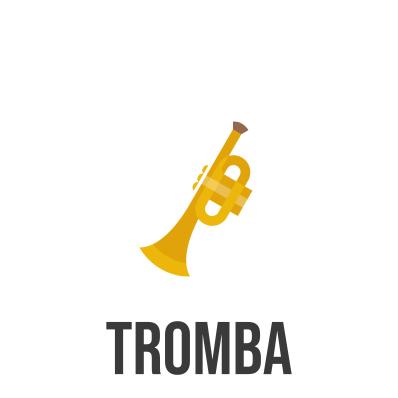 spartito e base musicale per tromba