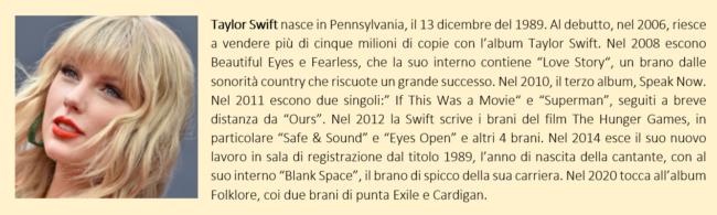 Taylor Swift, biografia breve